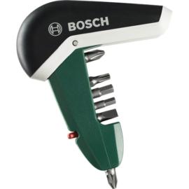 Bosch Compact Pocket bitkészlet racsnis csavarhúzóval