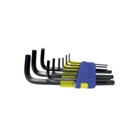 Oaykay imbuszkulcs készlet 9-részes 1.5-10mm hosszú