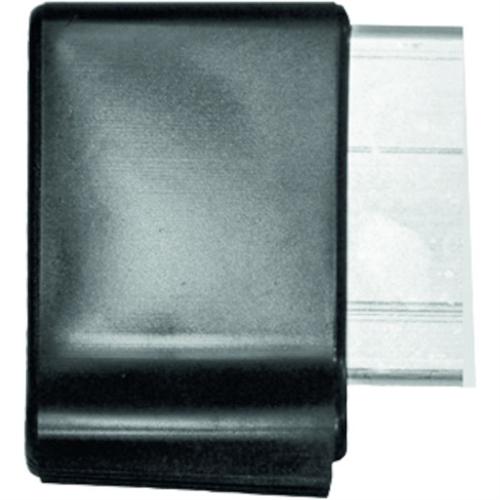 Zarges gerendasapka 73x25mm profilra világos szürke