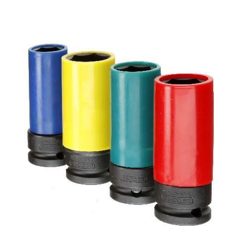 Gedore gépi dugókulcs készlet 1/2'', 4 részes (K 19 LS-004)
