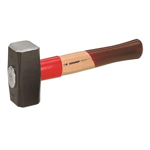 Gedore egykezes kalapács  ROTBAND-PLUS hikori nyéllel, 1000 g (620 H-1000)