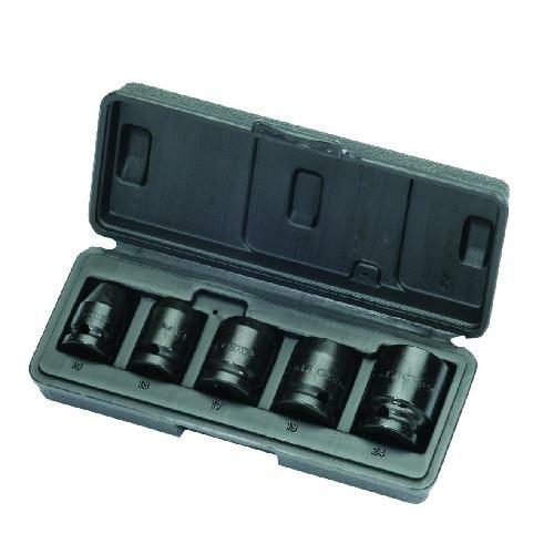 Gedore gépi dugókulcs készlet 1/2'', 5 részes, hatszög, 10-24 mm (K 19-028)