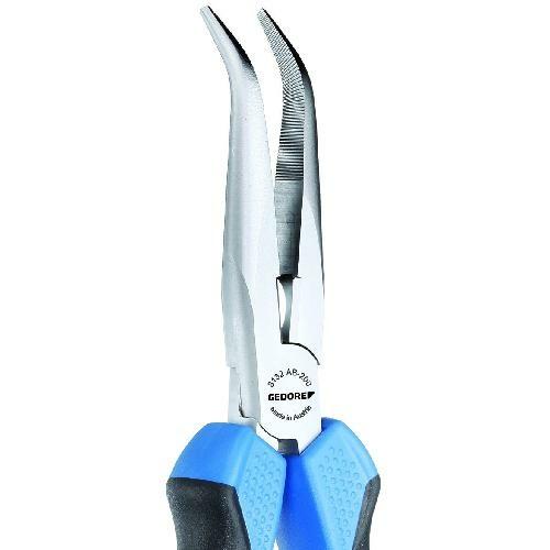 Gedore félkerekcsőrű fogó 200 mm 2K markolat (8132 AB-200 JC)