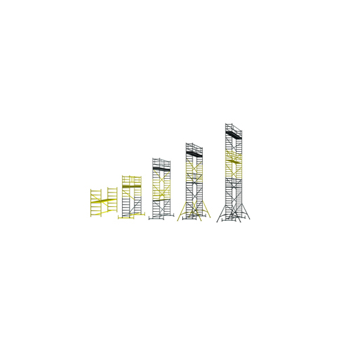 Zarges ModulMaster gurulóállvány A modul 0.75x2.0 (0.80m) (Z300)