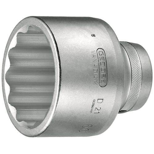 Gedore dugókulcs betét 1'', UD profil 60 mm (D 21 60)