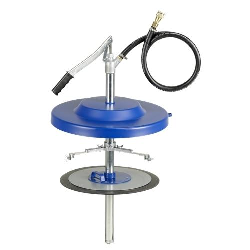 Pressol kézipumpás zsírzó  szett 50 kg-os hordóhoz, 335-385 mm